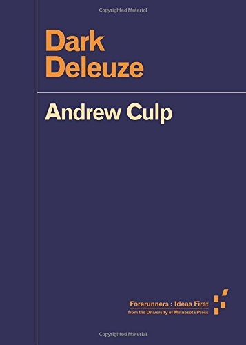 Buy Dark Deleuze