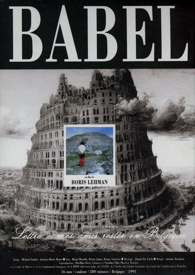 Buy Babel: Letter to My Friends who Stayed in Belgium