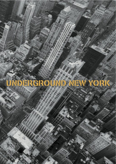 Buy Underground New York