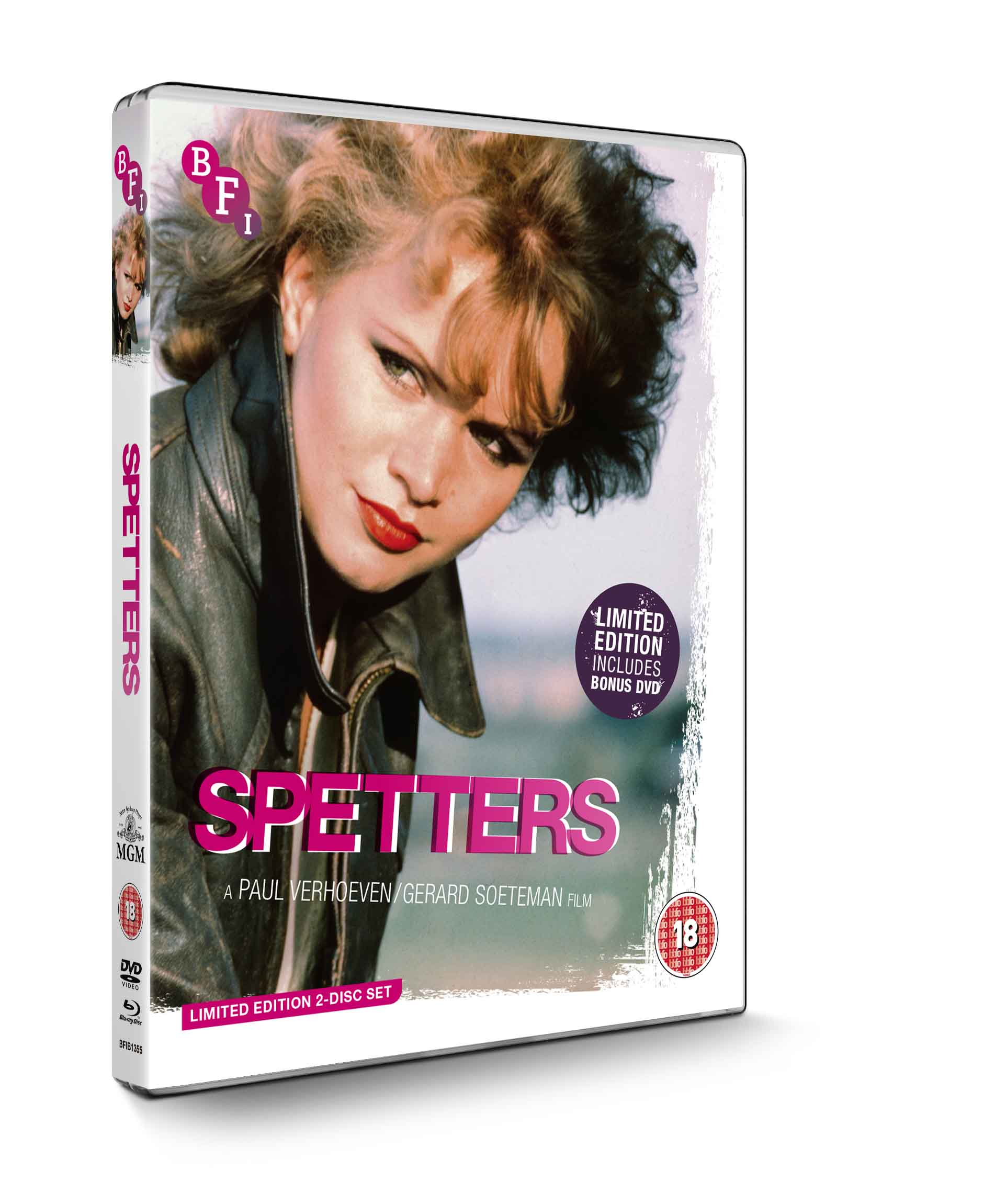 Buy Spetters (Limited Edition 2 disc Blu-ray / DVD set)