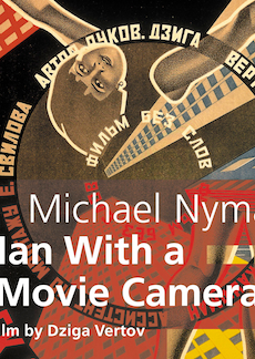 Buy Michael Nyman's Man With a Movie Camera