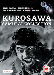 Buy Kurosawa Samurai Collection (4-DVD set)
