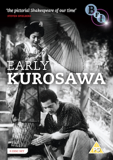 Buy Early Kurosawa (Sanshiro Sugato, Sanshiro Sugato part two, The Most Beautiful, They Who Step on the Tiger's Tail) (4-DVD set)