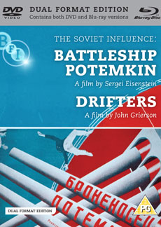 Buy Soviet Influence: Volume Two: Battleship Potemkin + Drifters, The (Dual Format Edition) (BFI Top 50 - Battleship Potemkin) (=11)