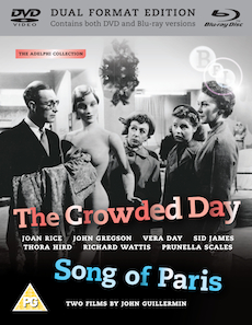 Buy Crowded Day, The + Song of Paris (Dual Format Edition)