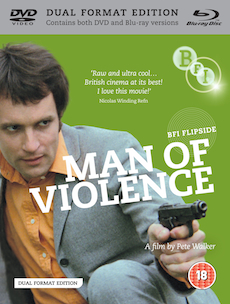 Buy Man of Violence (Flipside 006) (Dual Format Edition)