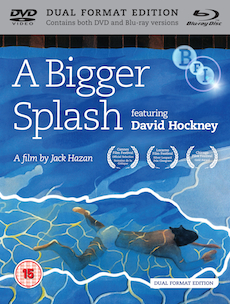 Buy A Bigger Splash: featuring David Hockney (Dual Format Edition)