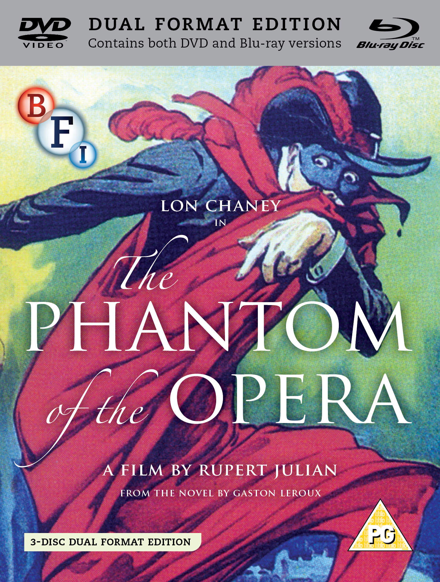 Buy The Phantom of the Opera (3-disc Dual Format Edition)
