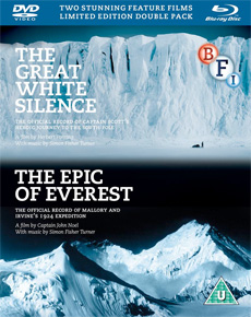 Buy Epic of Everest, The / Great White Silence, The (Dual Format Edition Double Pack)
