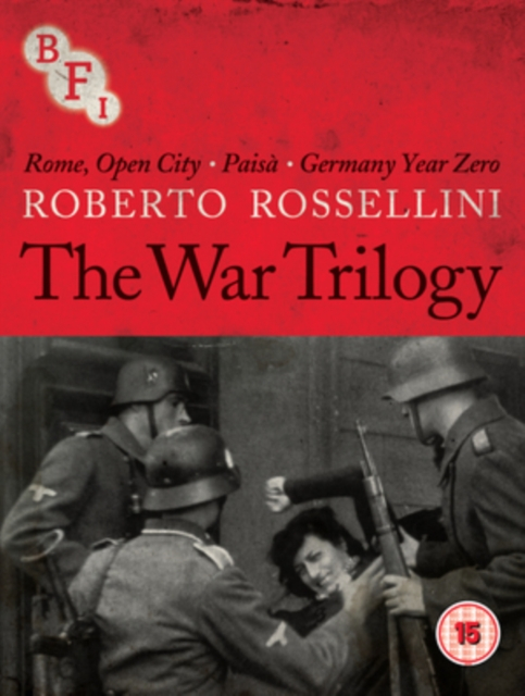Buy Roberto Rossellini: The War Trilogy