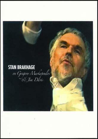 Buy Stan Brakhage on Gregory Markopoulos & Jim Davis