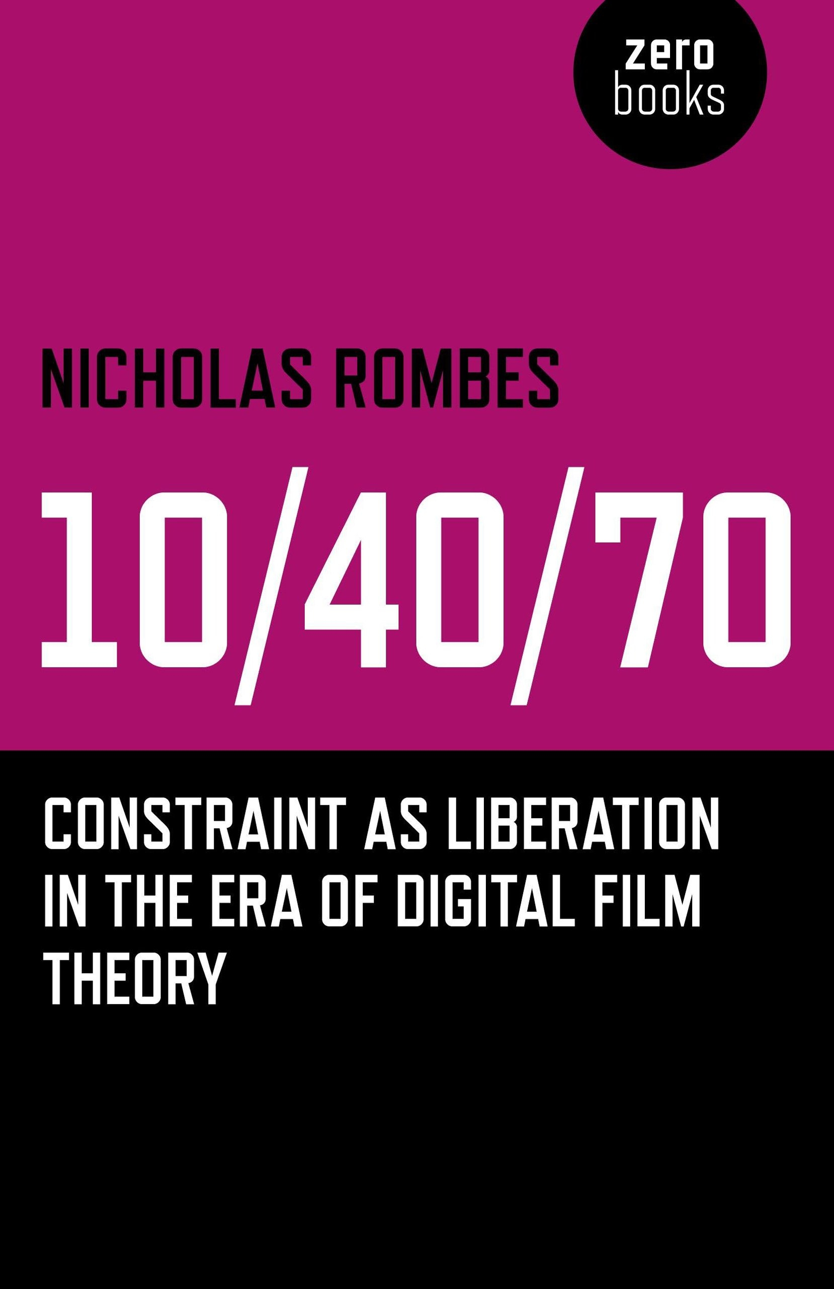 Buy 10/40/70: Constraint as Liberation in the Era of Digital Film Theory