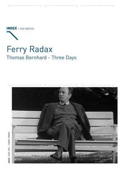 Buy Thomas Bernhard: Three Days