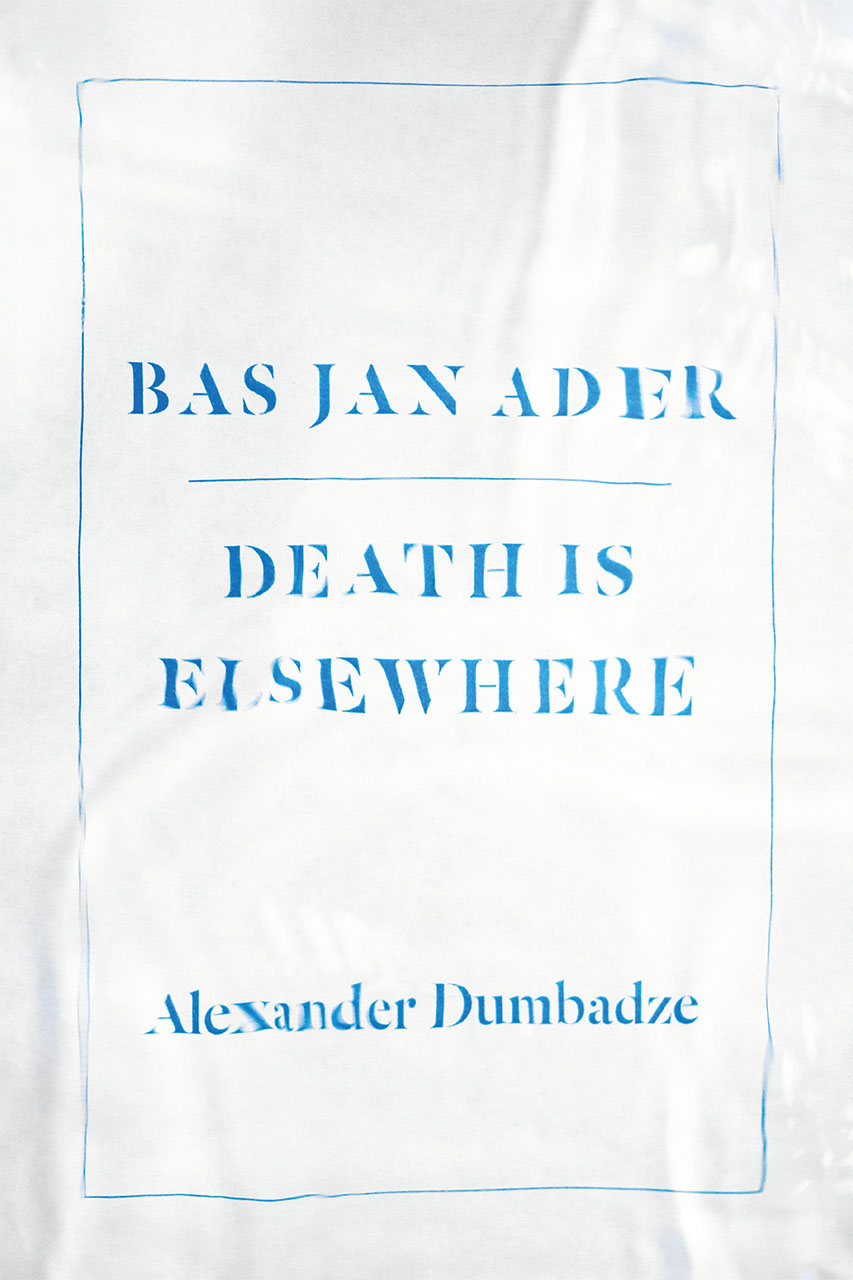 Buy Bas Jan Ader: Death is Elsewhere