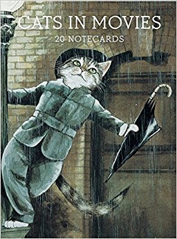 Buy Cats in Movies 20 Notecards