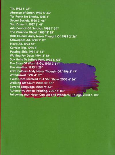 Buy George Barber: Beyond Language Selected Video Works 1983 -2008