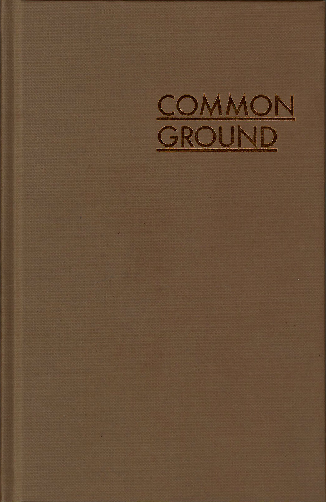 Buy Common Ground