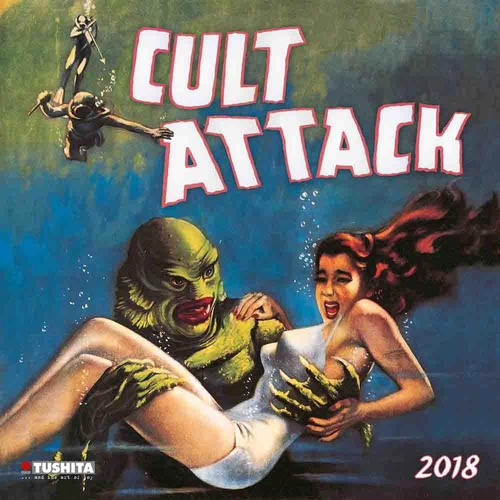 Buy Cult Attack 2018 calendar