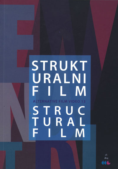 Buy Structural Film (Alternative Film / Video 2013)