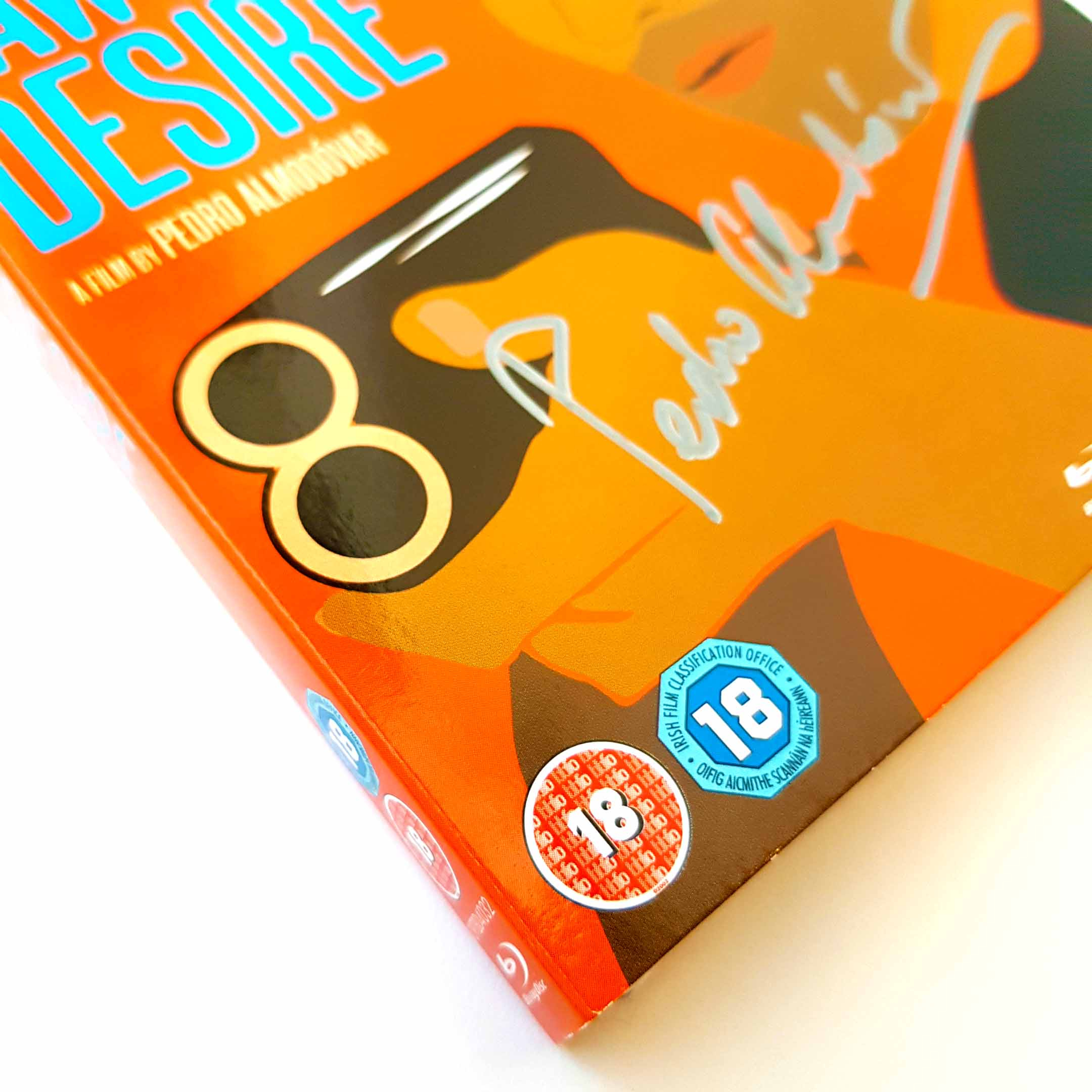 Buy Law of Desire (Blu-ray) SIGNED BY PEDRO ALMODOVAR