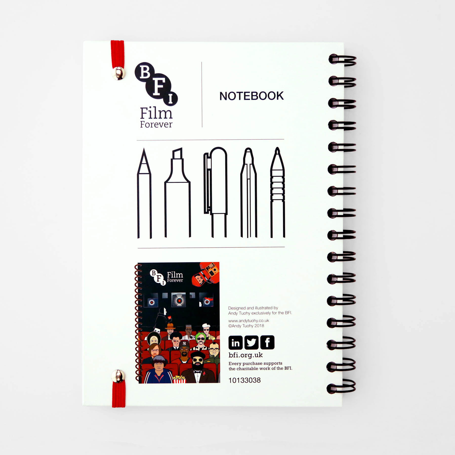 Buy Andy Tuohy Great Directors Notebook