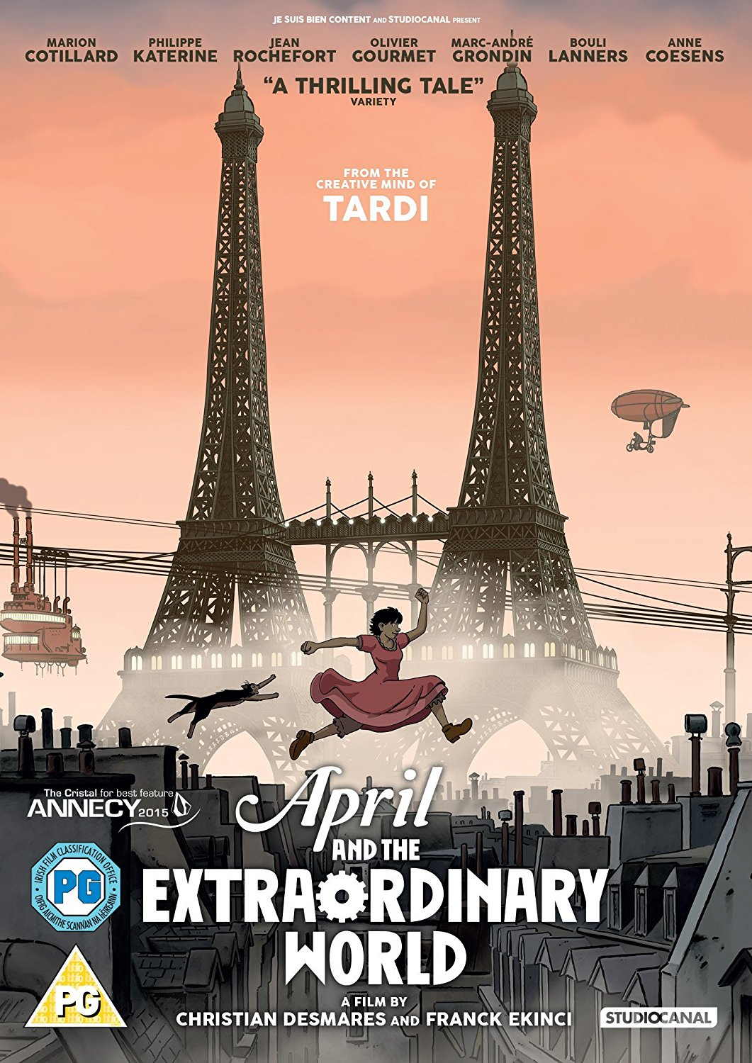 Buy April and the Extraordinary World
