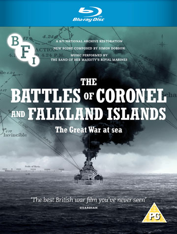 Buy The Battles of Coronel and Falkland Islands (Blu-ray)