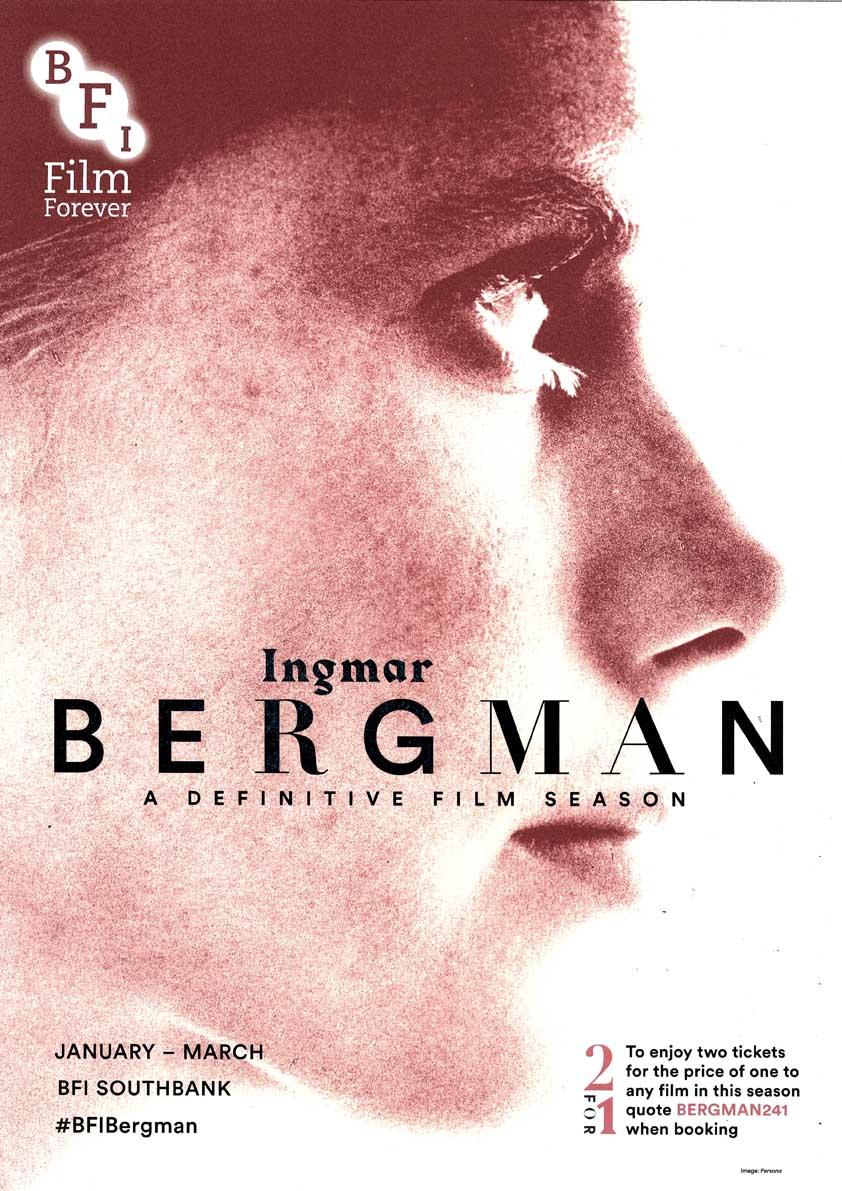 Buy Ingmar Bergman BFI season poster