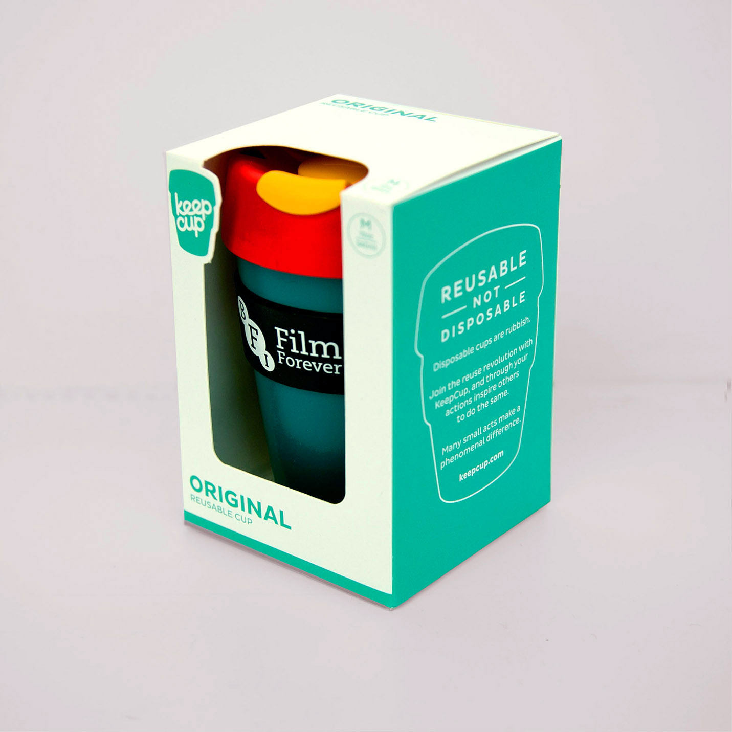 Buy BFI KeepCup (Teal / Red / Yellow)