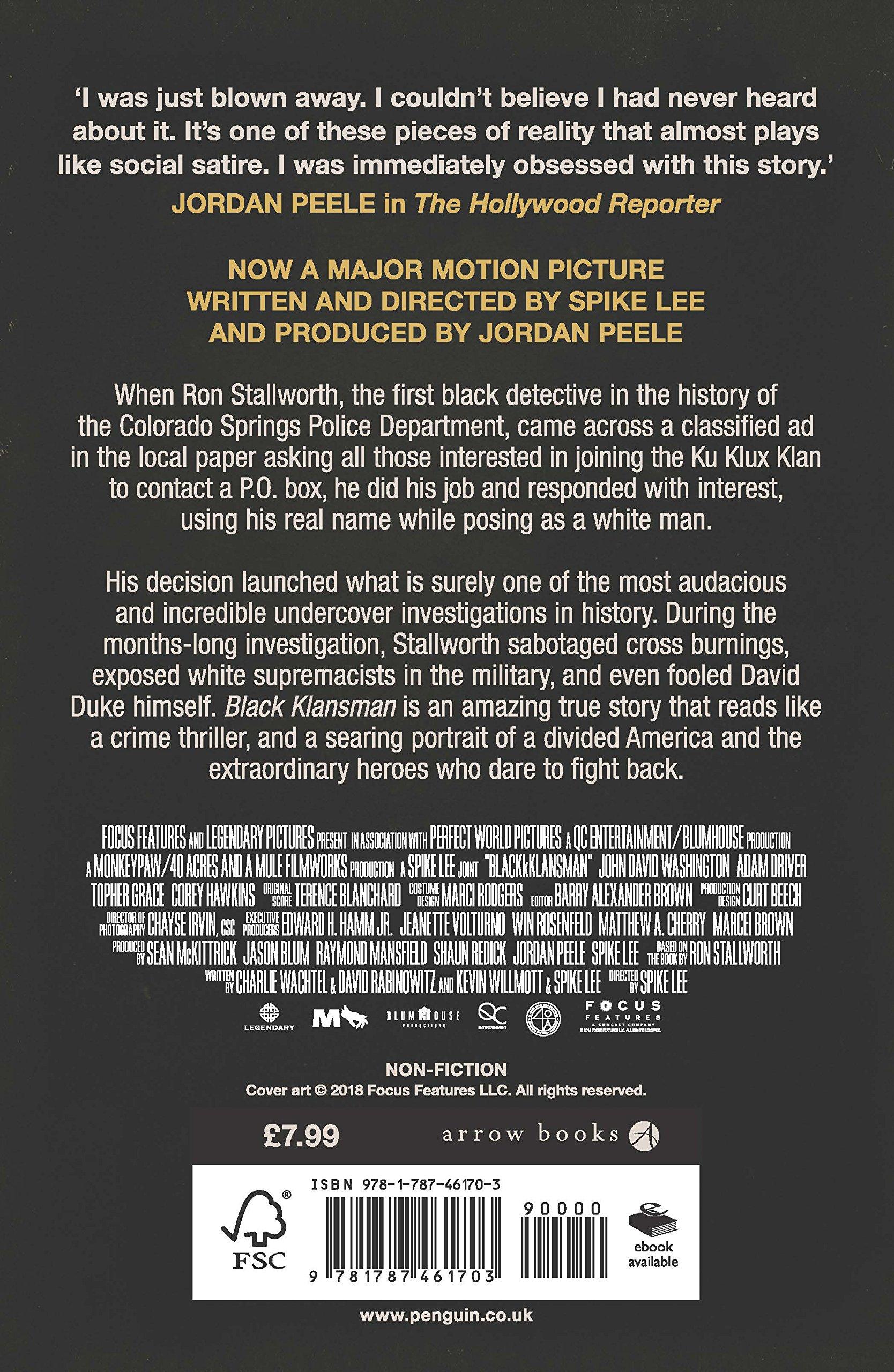 Buy Black Klansman: A Memoir