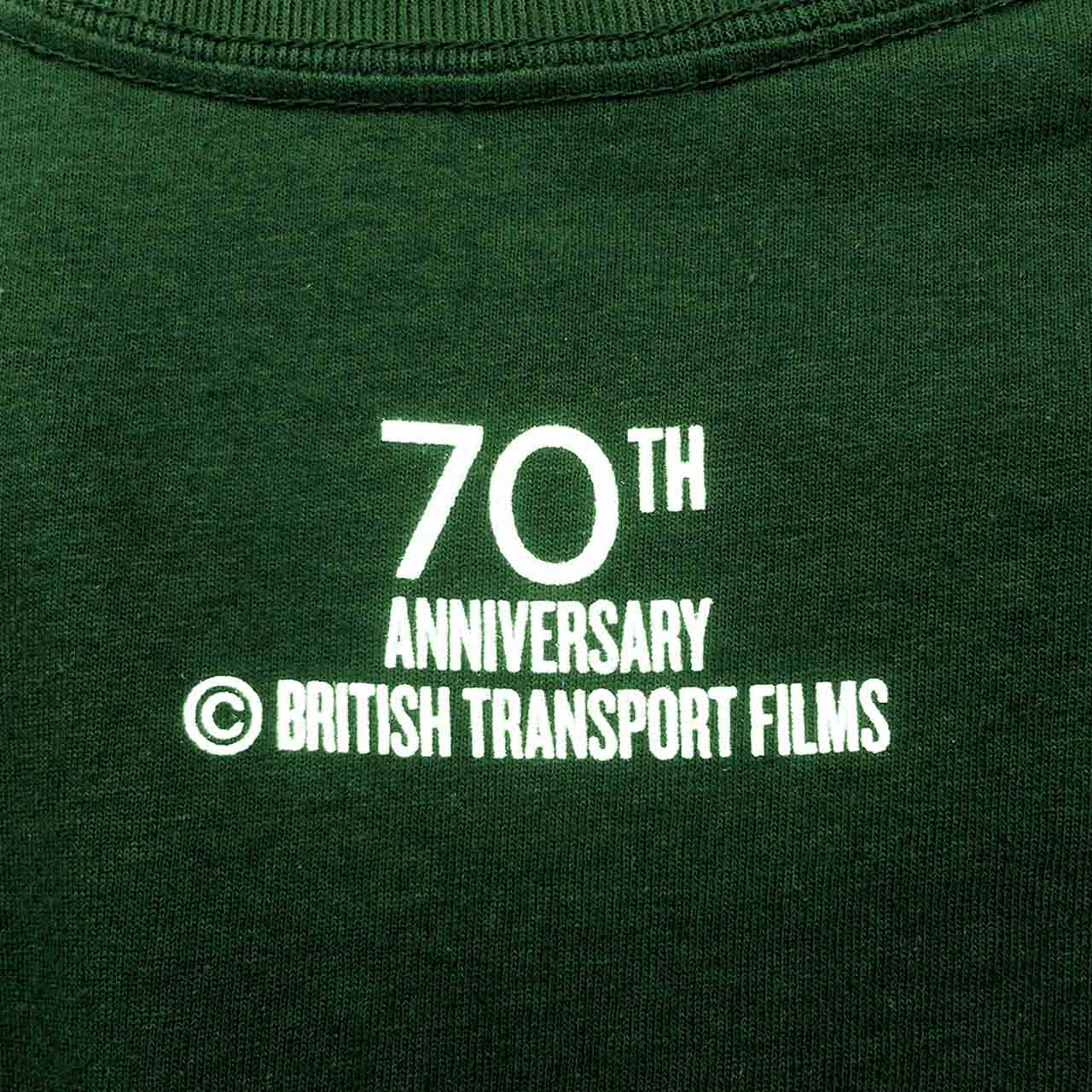 Buy British Transport Films 70th Anniversary T-shirt (Forest Green)
