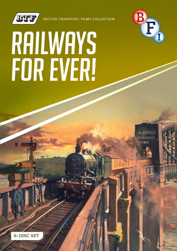 Buy British Transport Films: Railways For Ever!
