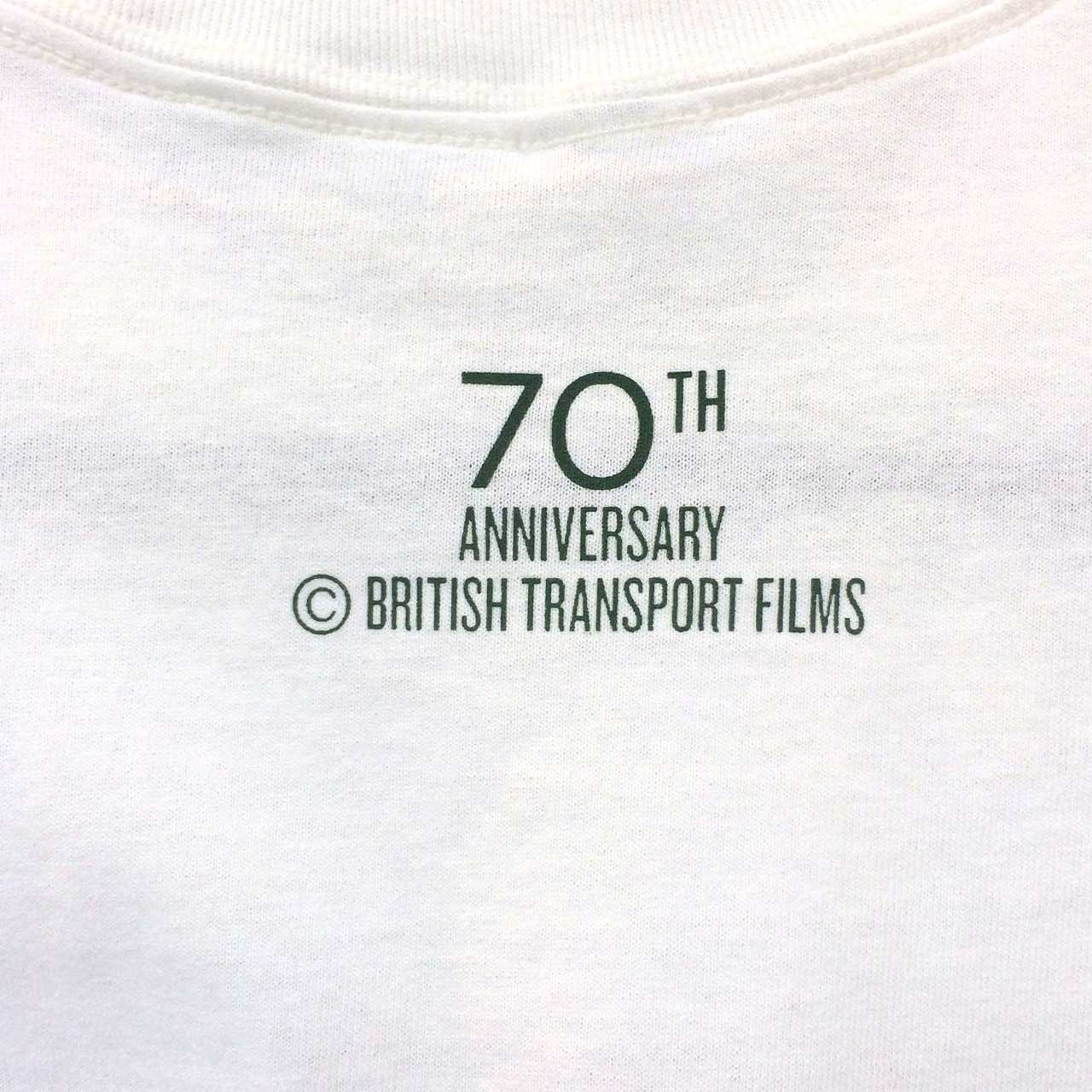 Buy British Transport Films 70th Anniversary T-shirt (White)