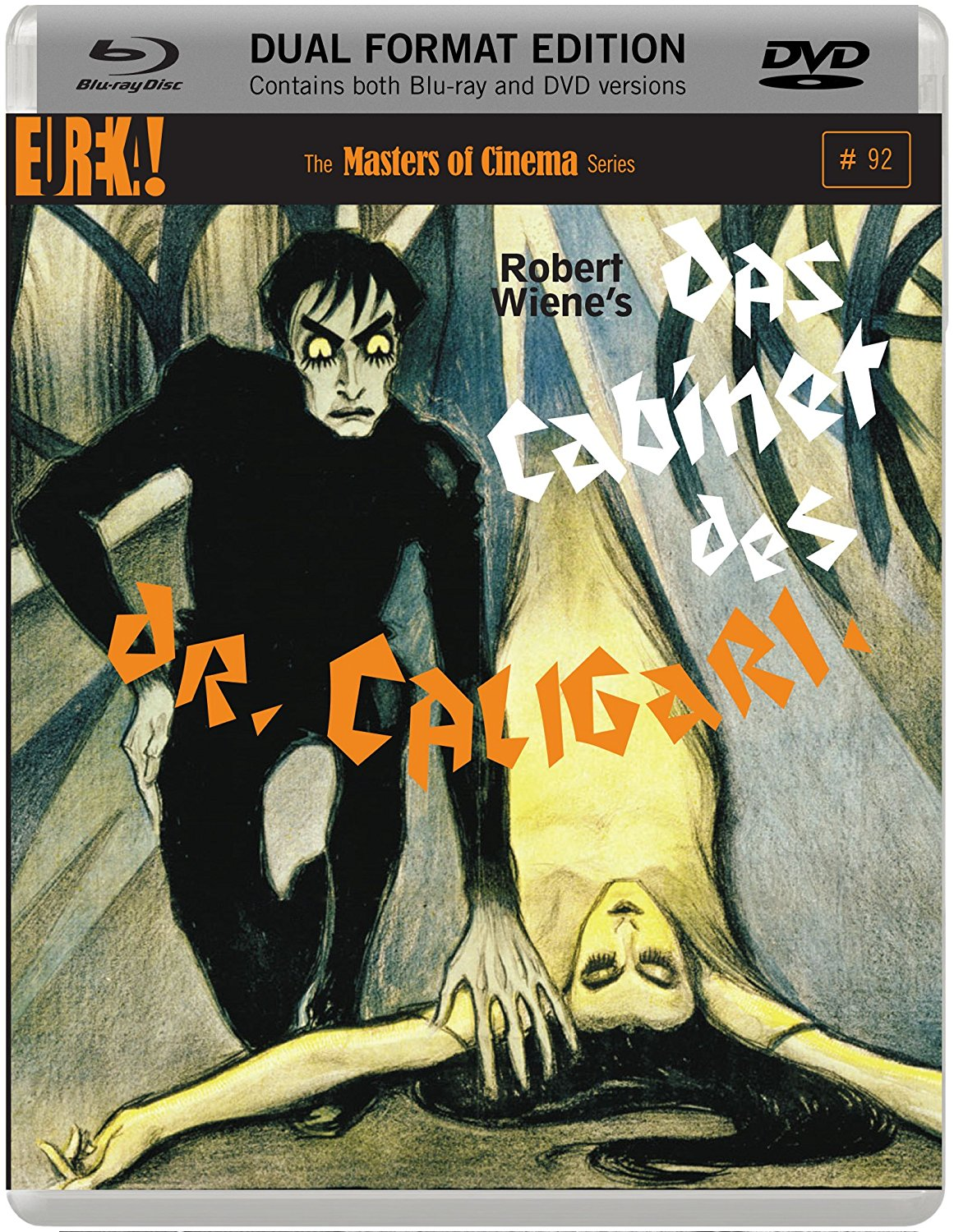 Buy Das Cabinet Des Dr Caligari (Dual Format Edition)