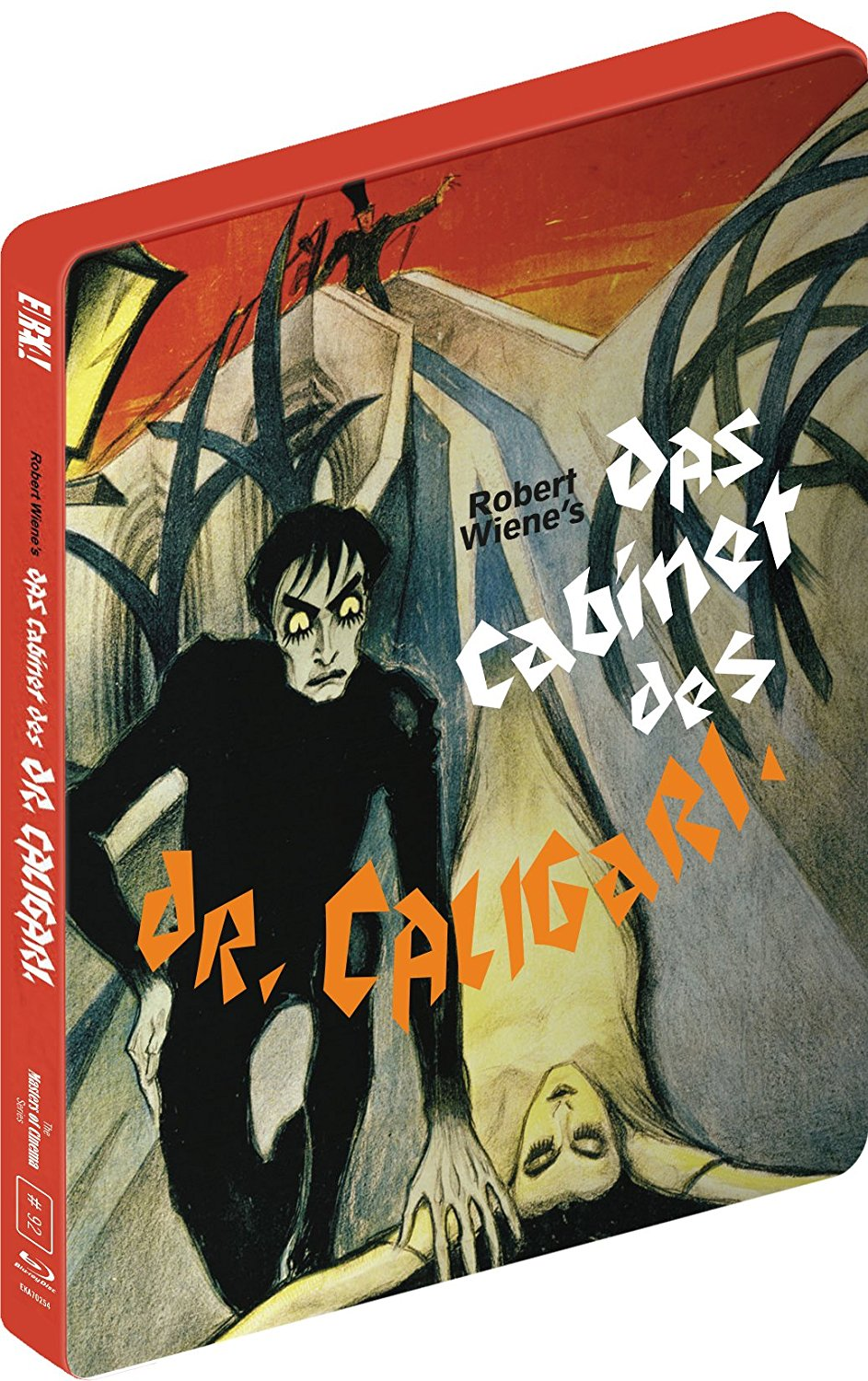 Buy Das Cabinet Des Dr Caligari (Limited edition steelbook)