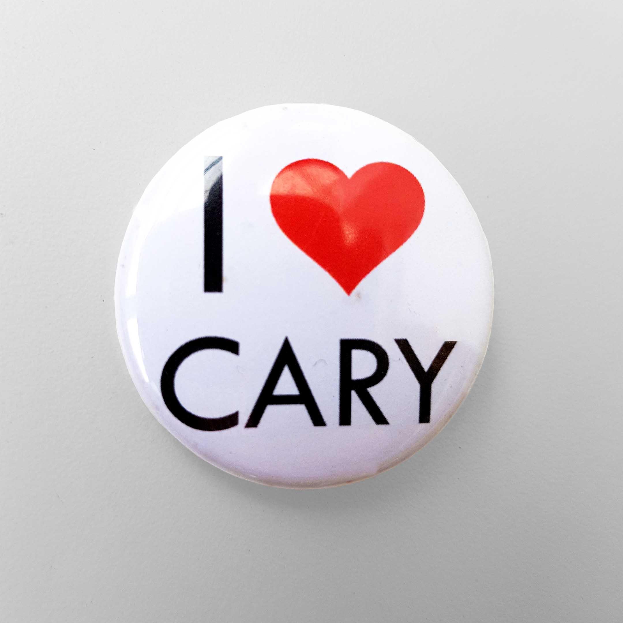 Buy Cary Grant Pin Badge (I Love Cary)