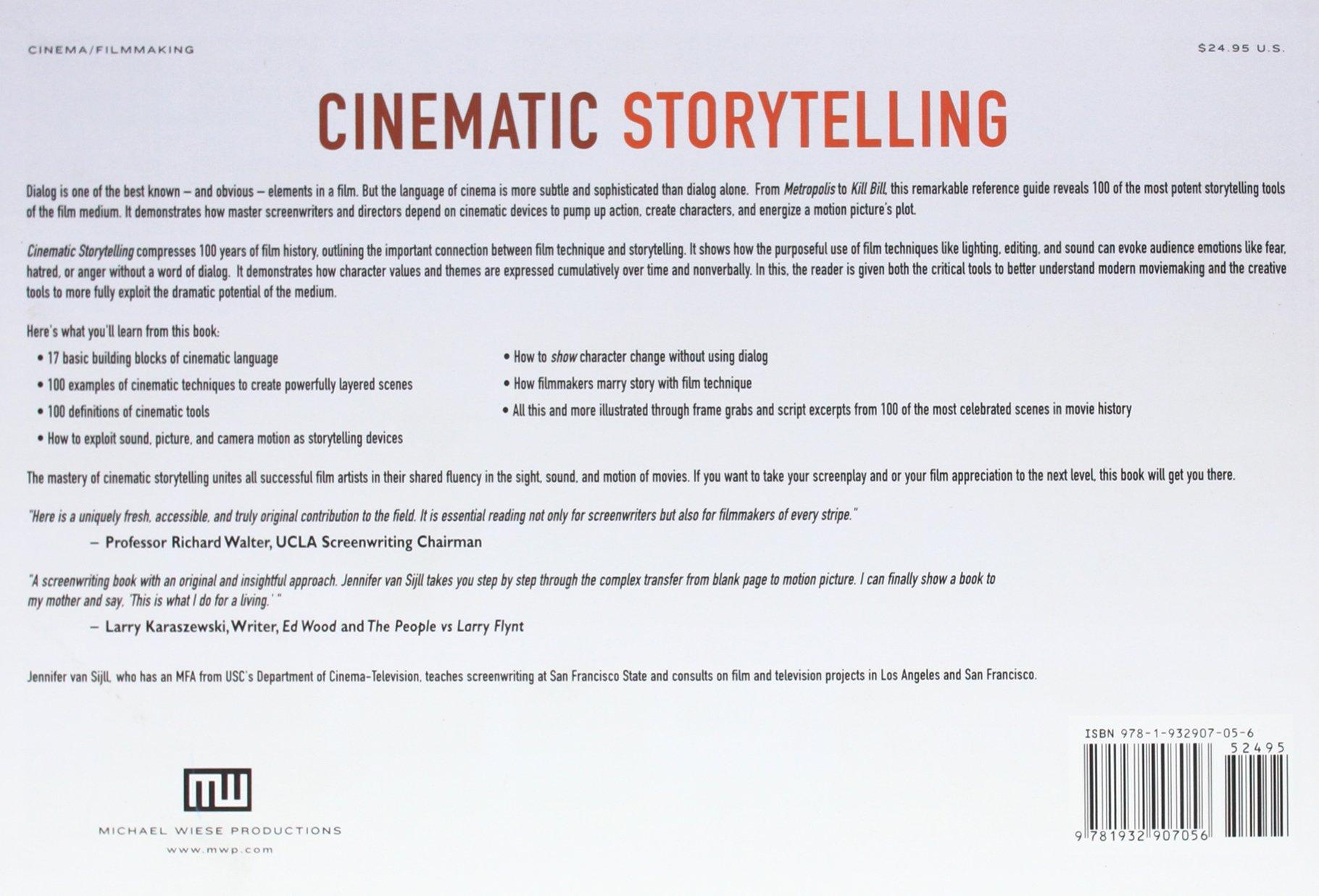 Buy Cinematic Storytelling