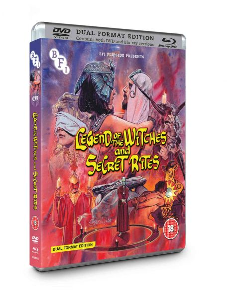 Legend of the Witches & Secret Rites (Flipside 039) (Dual Format Edition)