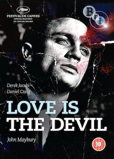 Love is the Devil: Study for a Portrait of Francis Bacon (DVD)