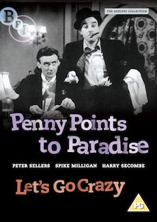 Penny Points to Paradise & Let's Go Crazy (DVD)