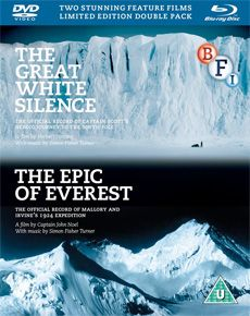 The Epic of Everest / The Great White Silence (Dual Format Edition Double Pack)