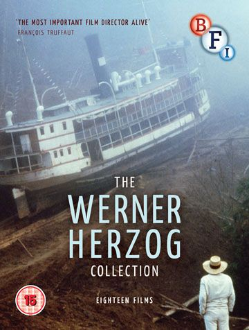 Werner Herzog Collection Blu-ray cover image