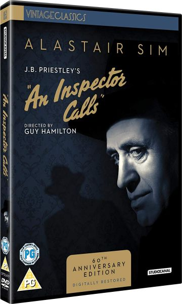 An Inspector Calls DVD pack shot