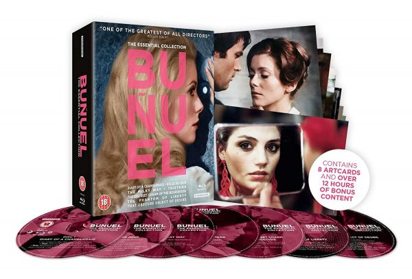 Buñuel: The Essential Collection Blu-ray box set 3