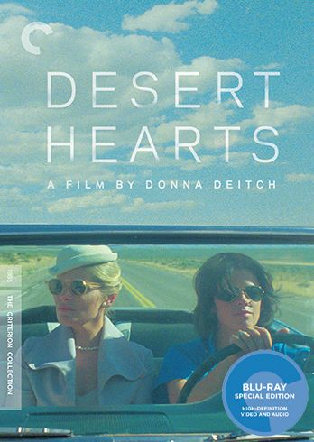 Desert Hearts Blu-ray cover image