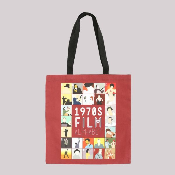 Film Alphabet Tote Bag: 1970s