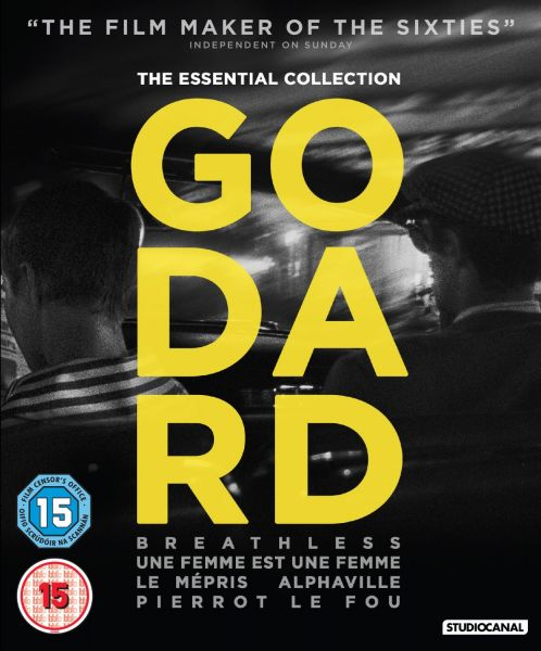 Godard: The Essential Collection Blu-ray Box Set