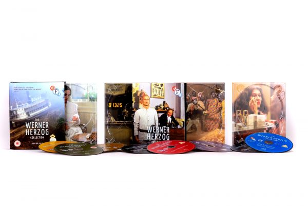 Werner Herzog box set contents