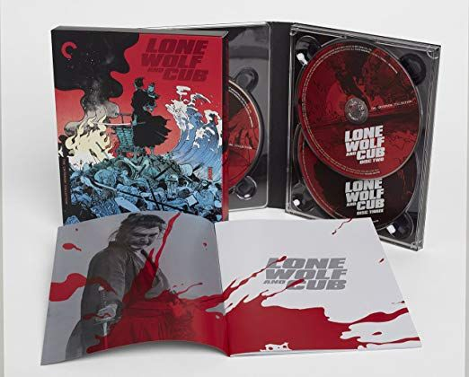 Lone Wolf and Cub Blu-ray Box Set contents
