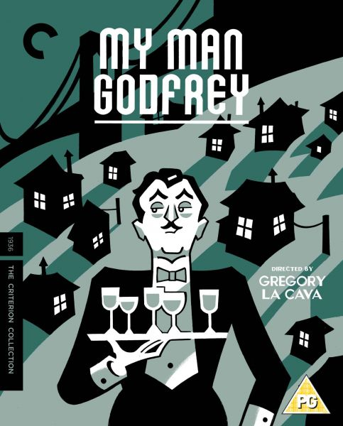 My Man Godfrey Blu-ray cover image